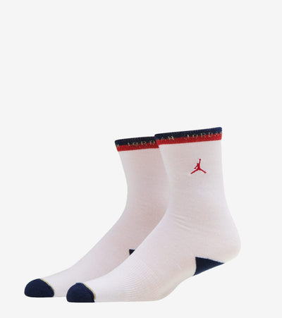 Jordan  2 Pack AJ1 Retro Olympics Crew Socks   White - BJ0417-U10 | Jimmy Jazz
