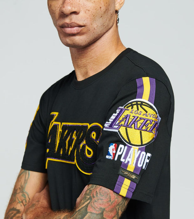 Pro Standard  Los Angeles Lakers Pro Team Short Sleeve  Multi - BLL151107-BLK | Jimmy Jazz