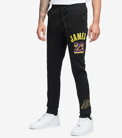 Pro Standard  Los Angeles Lakers Lebron James Joggers  Black - BLL451721-BLK | Jimmy Jazz
