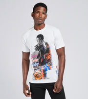 Mitchell And Ness  New York Knicks Patrick Ewing Tee  White - BMTRMM18861NYK-WHIT | Jimmy Jazz