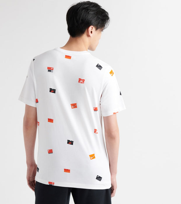 Nike  Footwear Pack SS Tee   White - BQ0066-100 | Jimmy Jazz