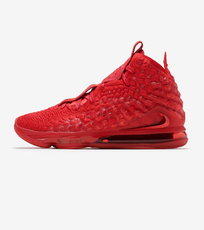 "Nike  Lebron XVII ""University Red""  Red - BQ3177-600 
