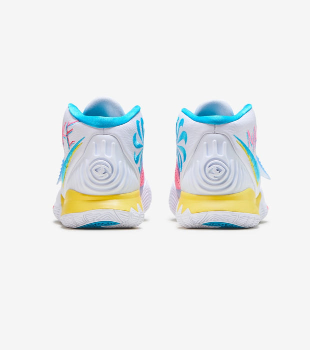 Nike  Kyrie 6 Neon Graffiti  White - BQ4630-101 | Jimmy Jazz