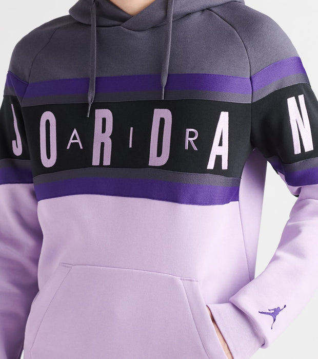 Jordan  Air Gradient Fleece Pullover Hoodie  Purple - BQ5651-015 | Jimmy Jazz