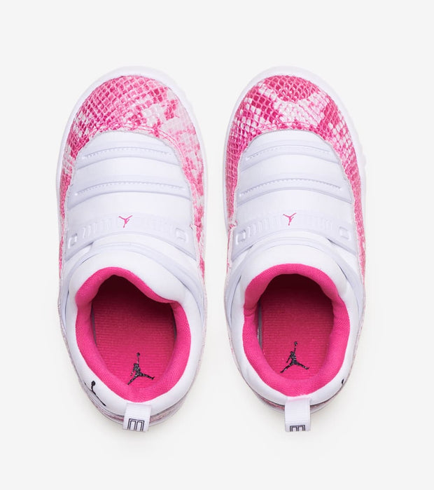 "Jordan  Retro 11 Little Flex ""Pink Snakeskin""  Pink - BQ7104-106 