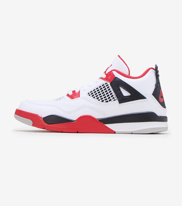 Jordan  Air Jordan 4 Retro Fire Red  White - BQ7669-160 | Jimmy Jazz