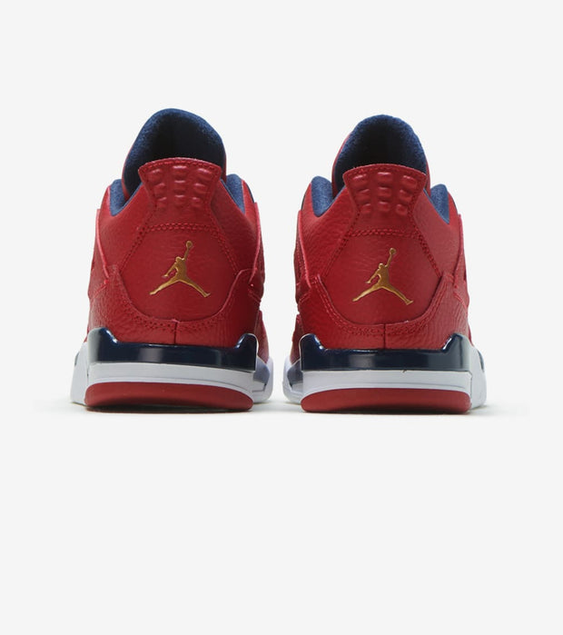 "Jordan  Air Jordan Retro 4 ""FIBA""  Red - BQ7669-617 