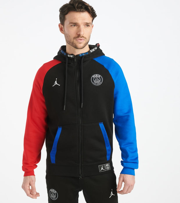 Jordan  Paris Saint-Germain Fleece Hoodie  Black - BQ8346-011 | Jimmy Jazz