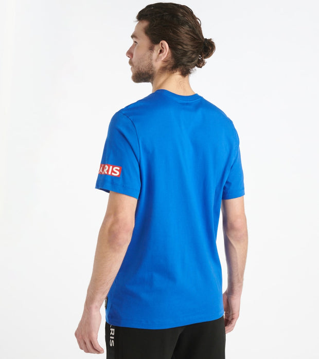Jordan  Paris Saint-Germain Tee  Blue - BQ8384-480 | Jimmy Jazz
