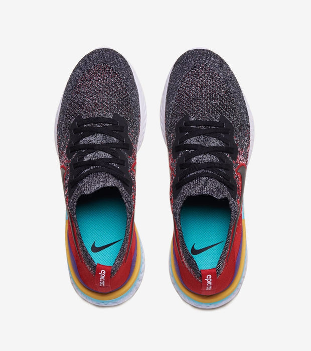 Nike  Epic React Flyknit 2  Black - BQ8928-007 | Jimmy Jazz