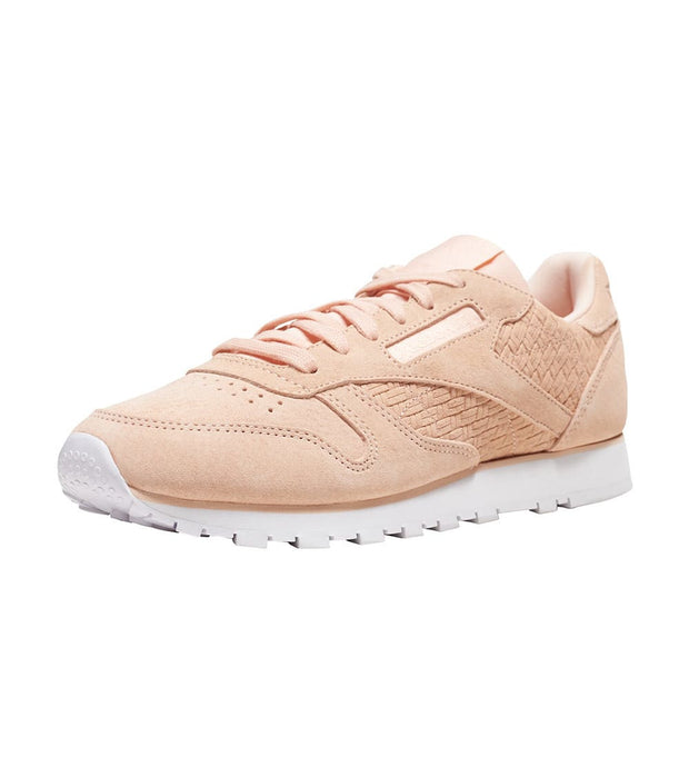 Reebok  CL LTHR Woven EMB  Pink - BT0004 | Jimmy Jazz