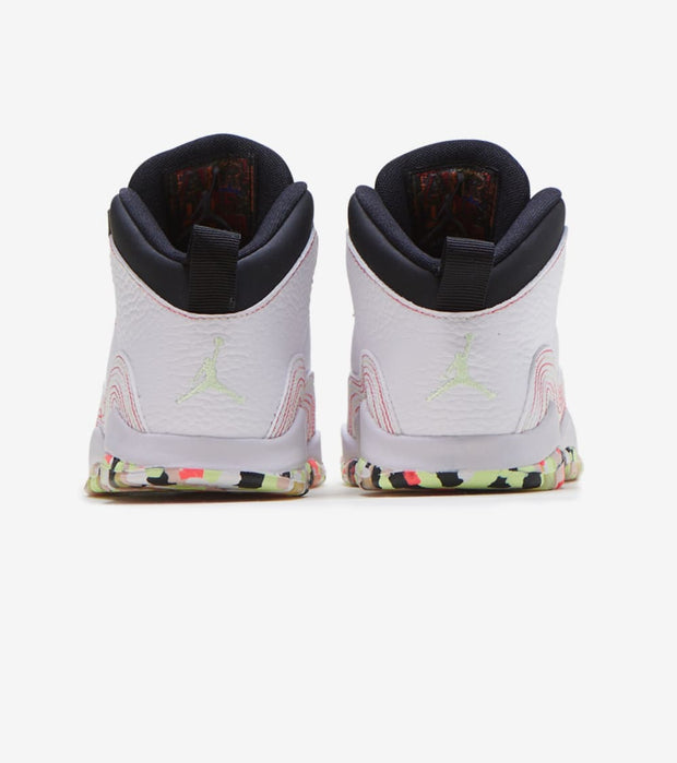"Jordan  Retro 10 ""Ember Glow""  White - BV1845-176 