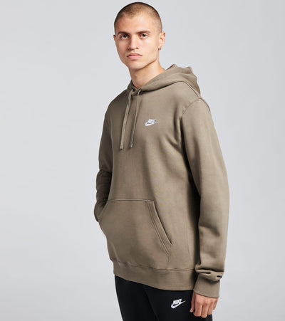 Nike  NSW Club Fleece Pullover Hoodie  Grey - BV2654-081 | Jimmy Jazz