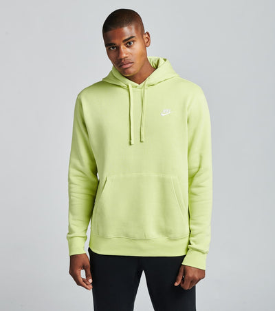 Nike  NSW Club Fleece Pullover Hoodie  Green - BV2654-352 | Jimmy Jazz