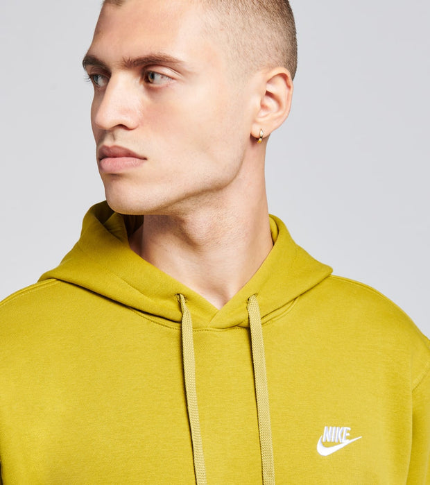 Nike  NSW Club Fleece Pullover Hoodie  Green - BV2654-377 | Jimmy Jazz