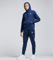 Nike  NSW Club Fleece Pullover Hoodie  Navy - BV2654-410 | Jimmy Jazz