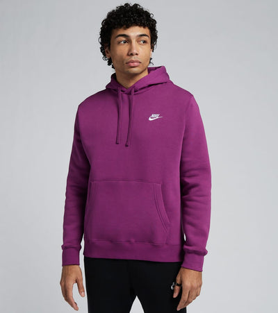 Nike  NSW Club Fleece Pullover Hoodie  Purple - BV2654-503 | Jimmy Jazz