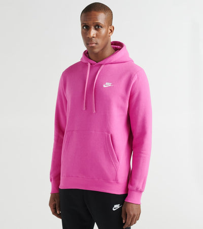 Nike  NSW Club Pullover Hoodie  Purple - BV2654-623 | Jimmy Jazz