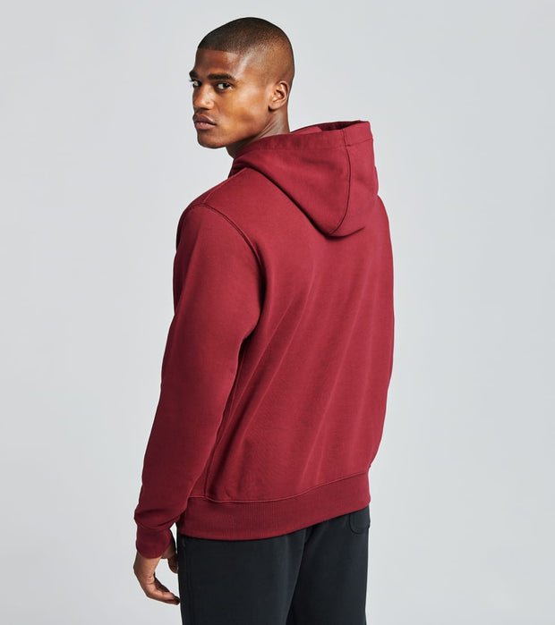 Nike  NSW Club Fleece Pullover Hoodie  Red - BV2654-638 | Jimmy Jazz