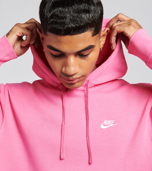 Nike  NSW Club Fleece Pullover Hoodie  Pink - BV2654-684 | Jimmy Jazz