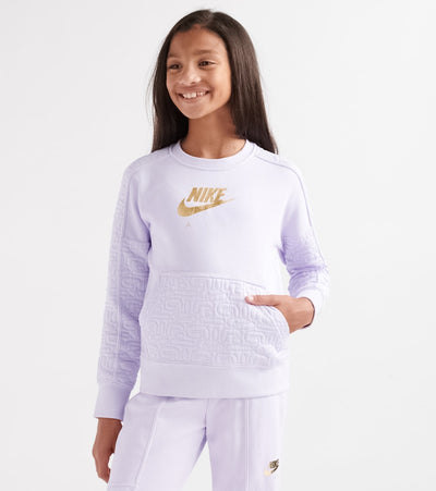 Nike  Girls 7-16 NSW Air Fleece Crew tee  Purple - BV2703-539 | Jimmy Jazz