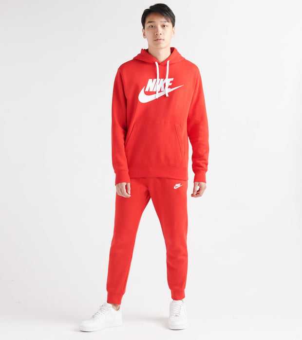 Nike  NSW Classic Hoodie  Red - BV2973-657 | Jimmy Jazz