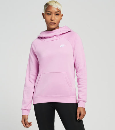 Nike  NSW Essential Pullover Fleece Hoodie  Pink - BV4116-680 | Jimmy Jazz