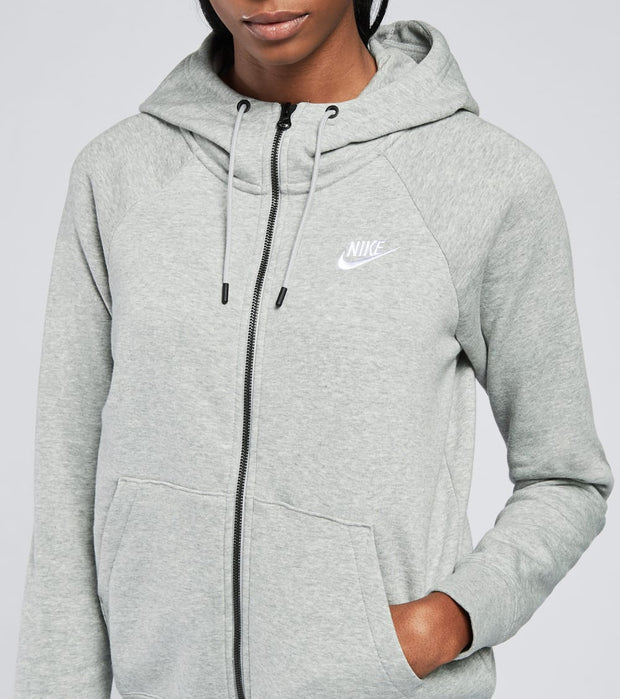 Nike  NSW Essential Full Zip Hoodie  Grey - BV4122-063 | Aractidf