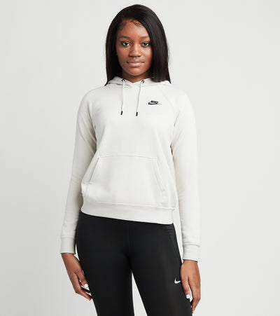 Nike  NSW Essential Pull Over Fleece Hoodie  White - BV4124-072 | Jimmy Jazz