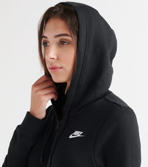 Nike  Varsity Full Zip Fleece Hoodie  Black - BV4128-010 | Jimmy Jazz