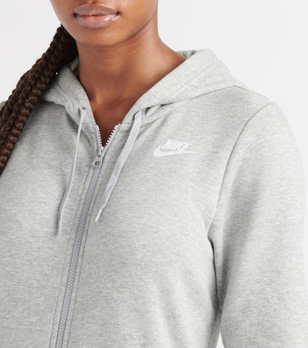 Nike  Varsity Full Zip Fleece Hoodie  Grey - BV4128-063 | Jimmy Jazz