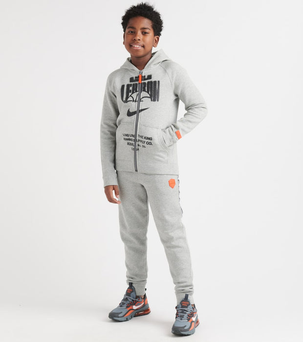 Nike  BOYS 8-20 Lebron Full Zip Hoodie  Grey - BV4391-063 | Jimmy Jazz