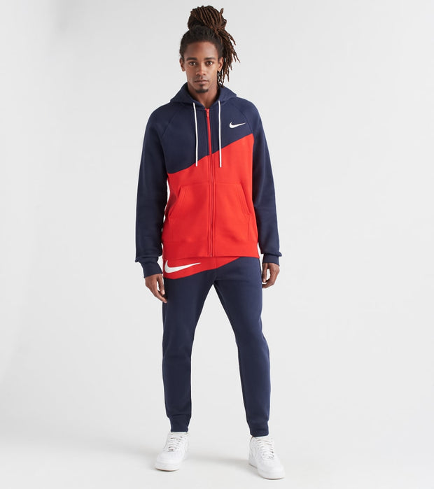Nike  NSW Swoosh Hoodie  Red - BV5237-658 | Jimmy Jazz
