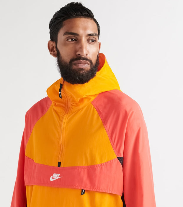 Nike  NSW Re-Issue Hooded Jacket  Orange - BV5385-873 | Jimmy Jazz