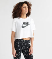 Nike  Essential Cropped Tee  White - BV6175-100 | Jimmy Jazz