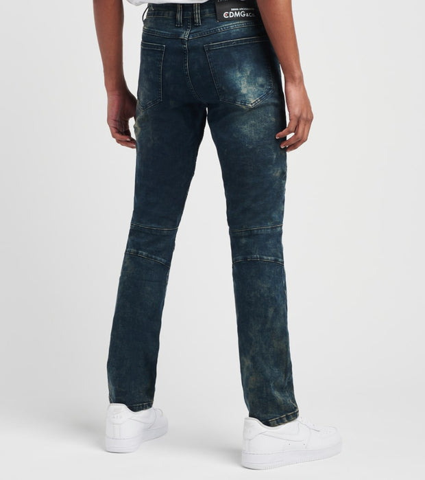 Caliber   Crumb Catcher Jeans L32  Blue - C12345-DOB | Jimmy Jazz