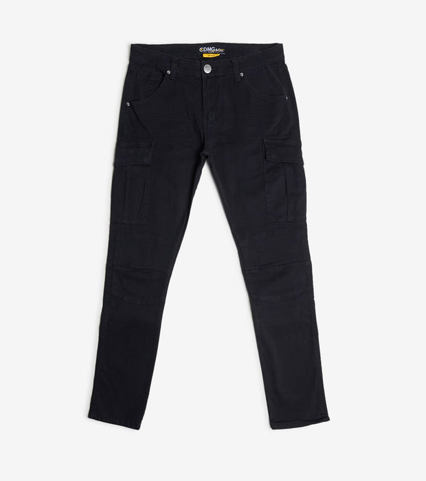 Caliber  Air Pocket Cargo Jeans  Black - C12465-JBK | Jimmy Jazz