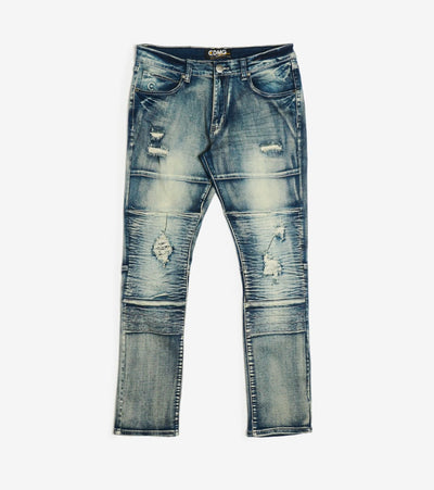 Caliber  MOTO JEANS  Blue - C12471-KBL | Jimmy Jazz