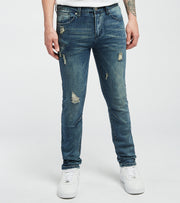 Caliber  Red Team Denim Jeans L32  Blue - C12531-DTB | Jimmy Jazz