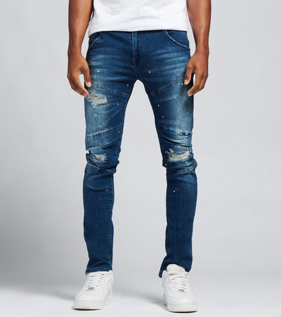Caliber  Chamber Jeans  Blue - C12554-MBL | Jimmy Jazz