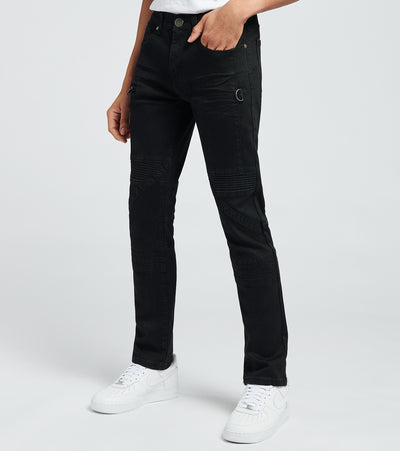 Caliber  Covert Denim Jeans L32  Black - C12575-JBK | Jimmy Jazz