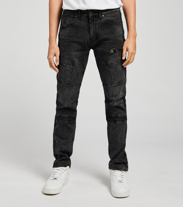 Caliber  Jawa Denim Jeans L32  Black - C12594-BKO | Jimmy Jazz