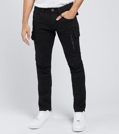 Caliber  Corridor Jeans L32  Black - C12674-BLK | Jimmy Jazz