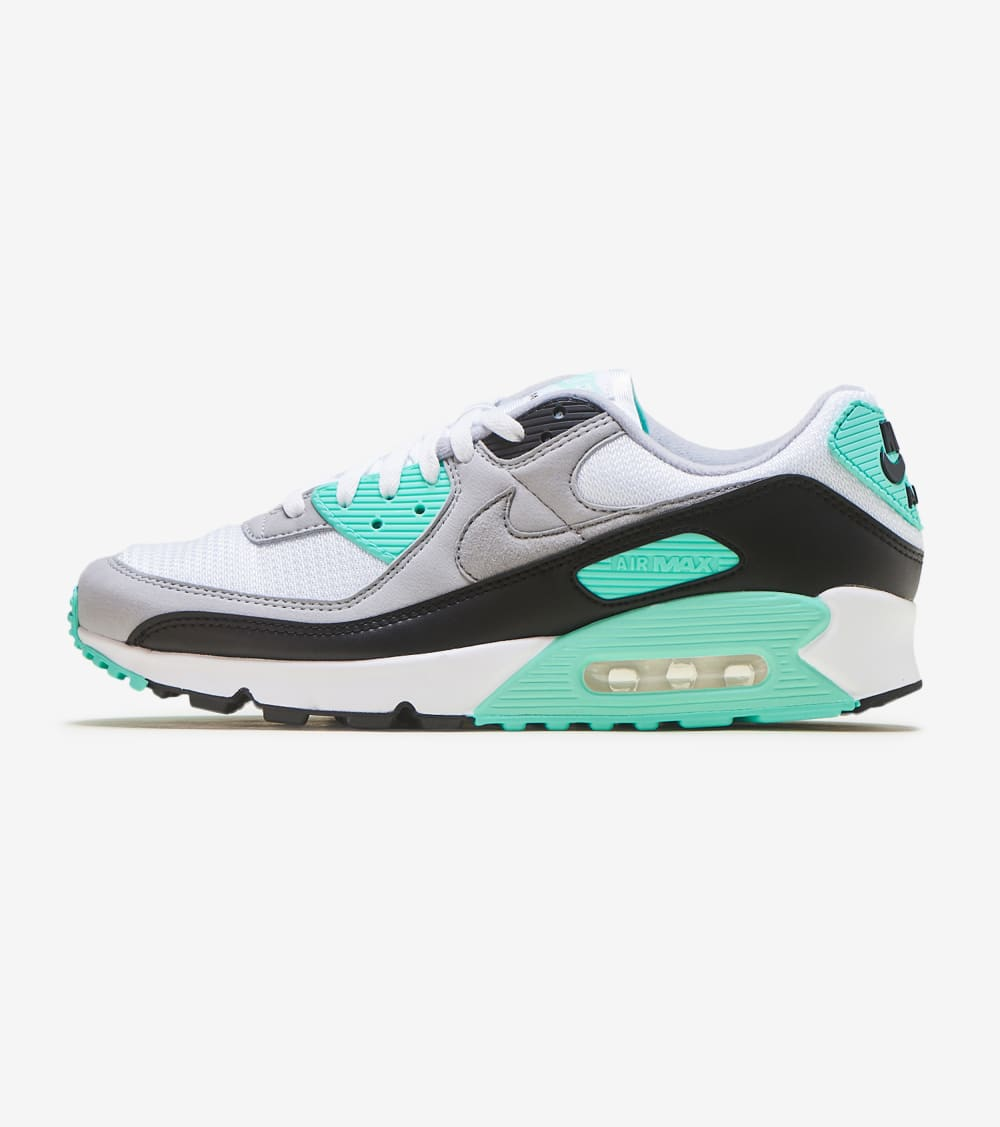 Medicinal Continental heroína  Nike Air Max 90 Turquoise Shoes in White/Turquoise/Black Size 10.5 |  Synthetic | Jimmy Jazz | SportSpyder