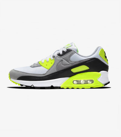 "Nike  Air Max 90 ""Volt""  White - CD0881-103 