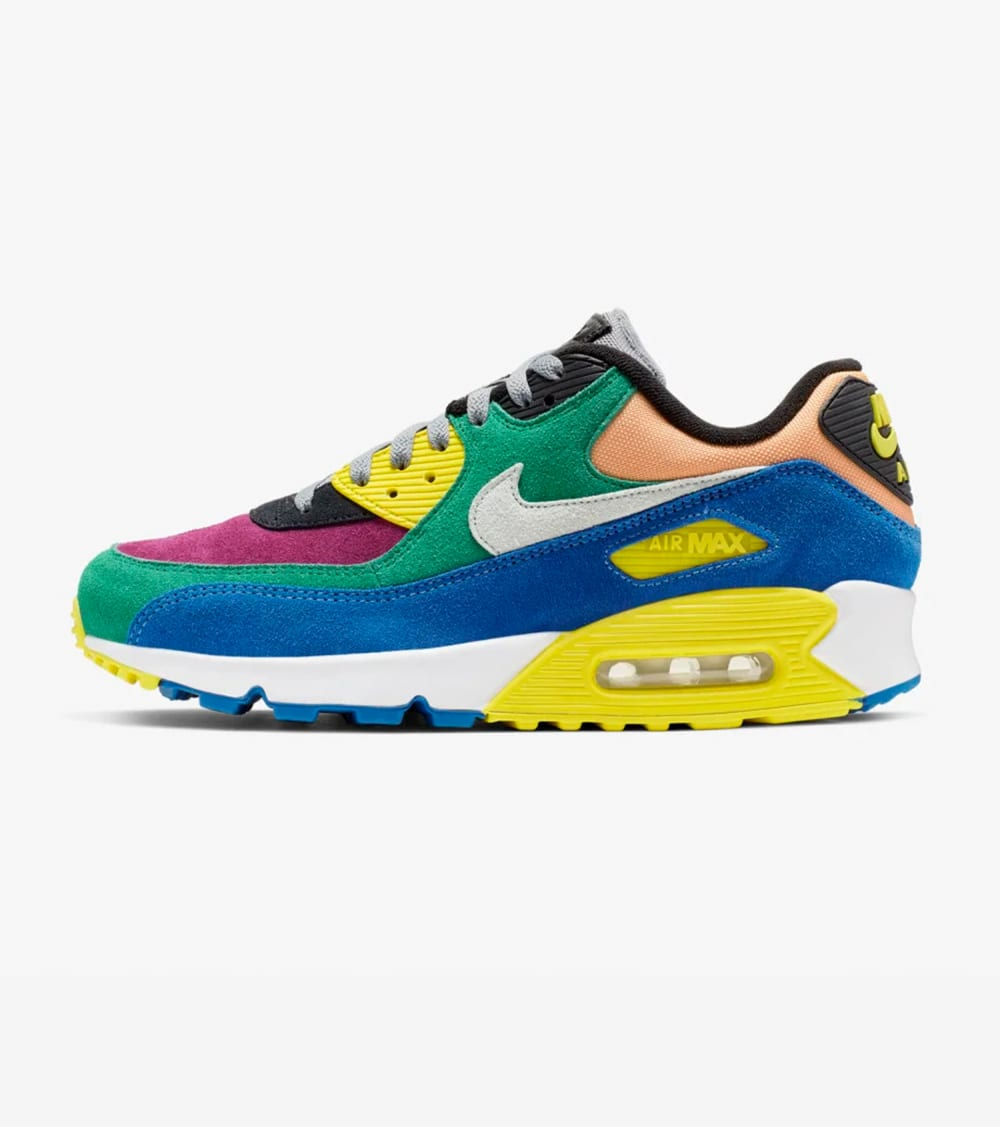 Nike Air Max 90 QS Shoes in Green Size