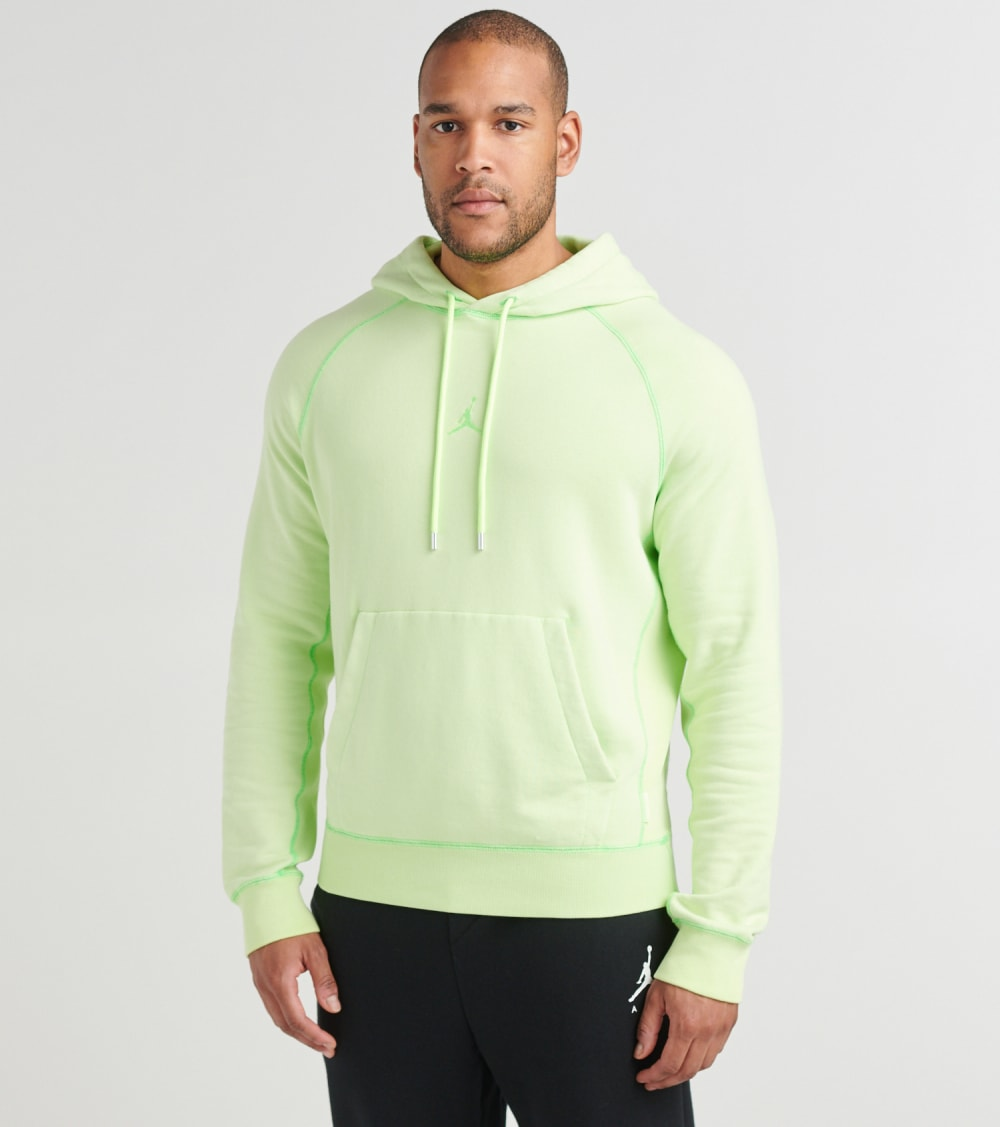 Jordan  Wings Fleece Pullover Hoodie  Green - CD4567-380 | Jimmy Jazz