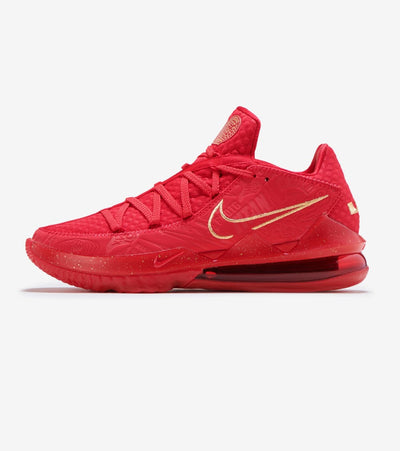 Nike  Lebron XVII Low   Red - CD5008-600 | Jimmy Jazz