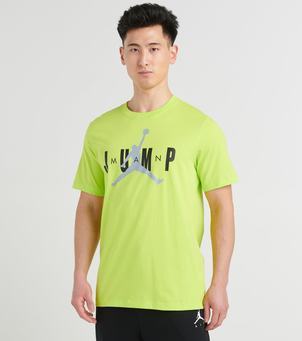 Jordan  Jumpman Crewneck Tee  Green - CD5616-380 | Jimmy Jazz