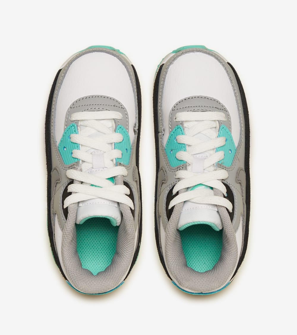 "Nike  Air Max 90 ""Turquoise""  White - CD6868-102 